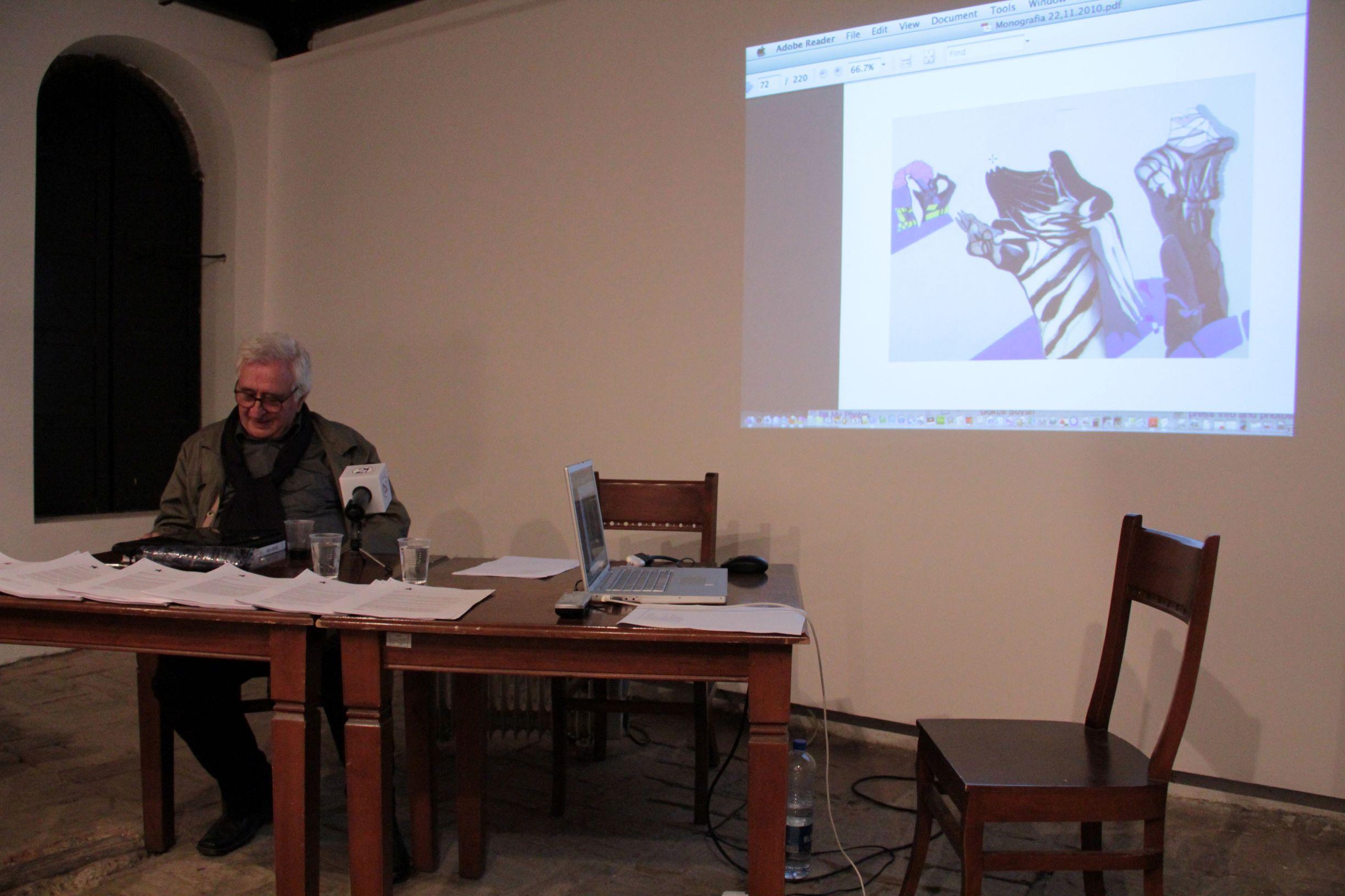 Rexhep Ferri në bashkëbisedim me Mehmet Behlulin