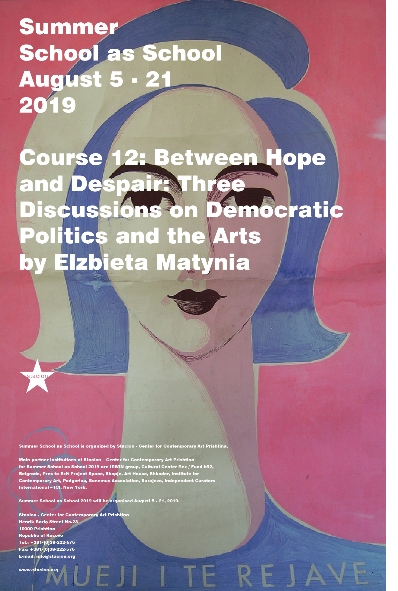 Course 12: Between Hope and Despair - Three Discussions on Democratic Politics and the Arts