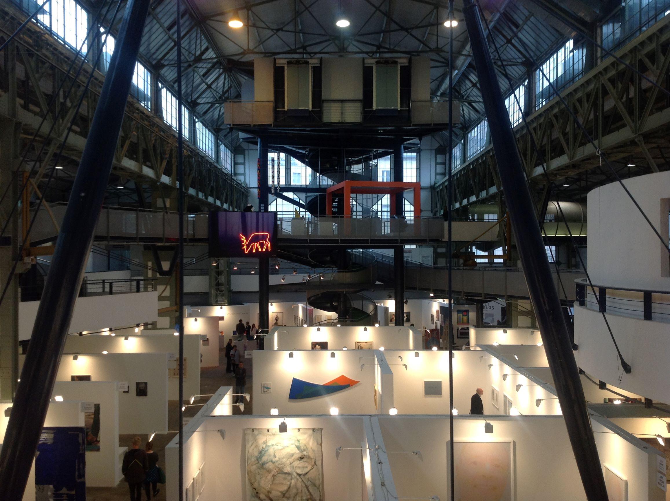 Stacion CCA Prishtina at Art Market Budapest 2015