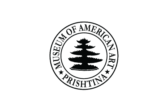 The logo of the Museum of American Art