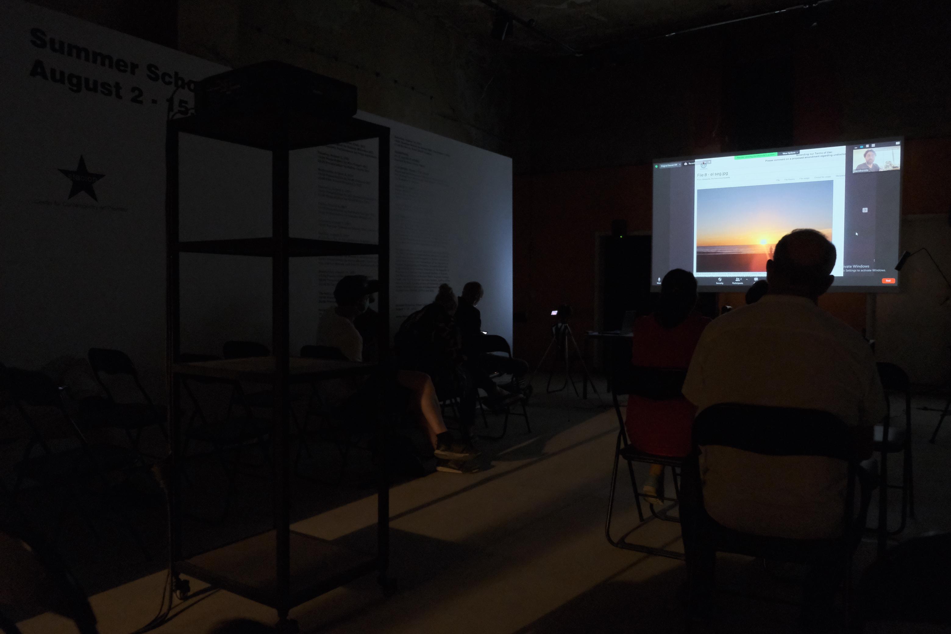 David Horvitz: Public Lecture