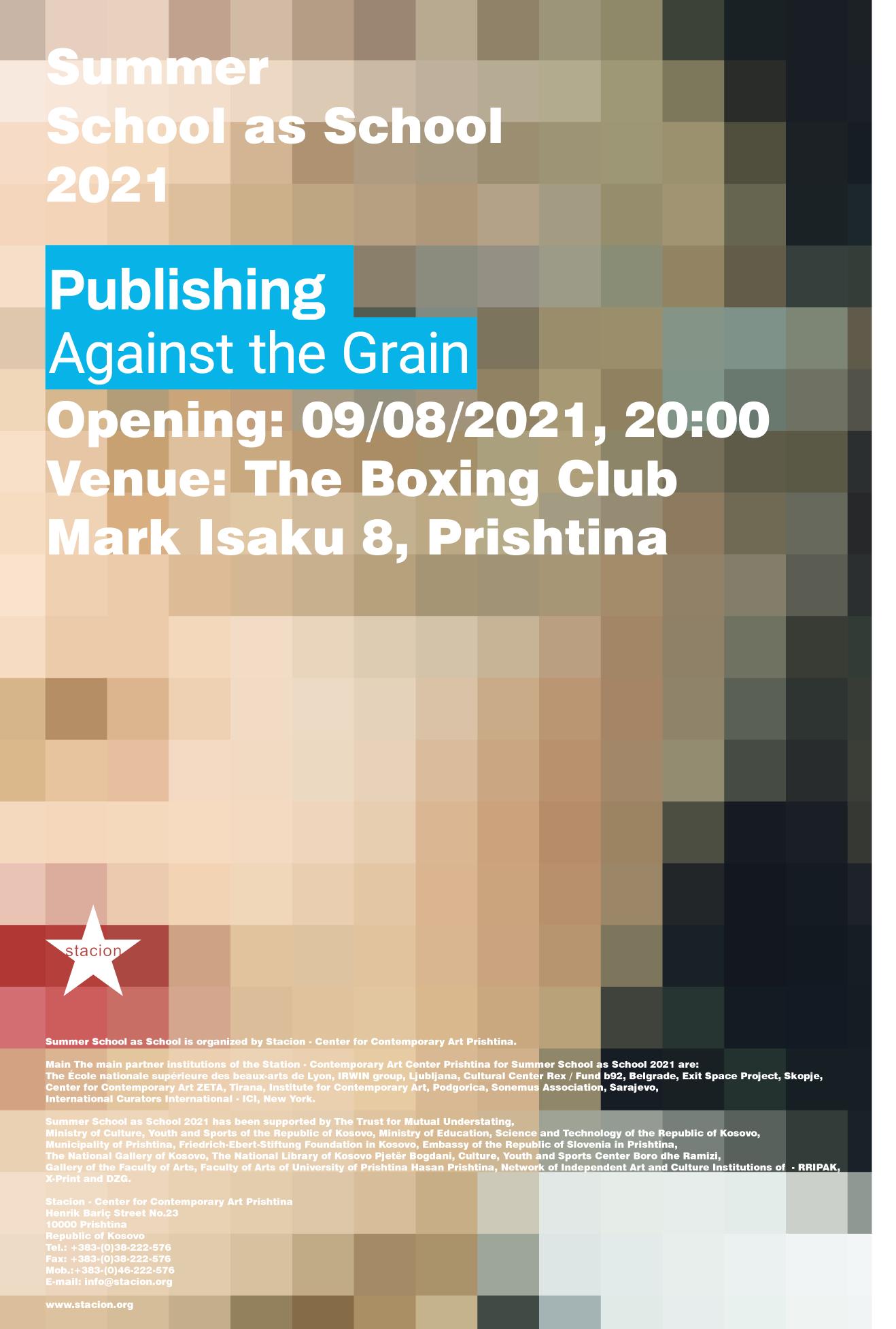 Publishing Against the Grain