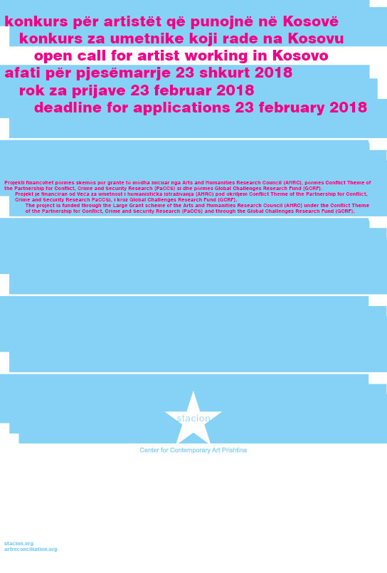 Open Call for Artists working in Kosovo